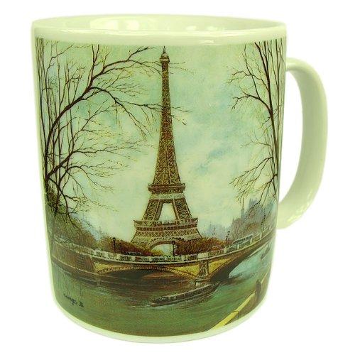 Paris Seine-touren (Souvenirs de France - Mug Paris Tour Eiffel et Seine)