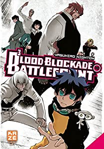 Blood Blockade Battlefront Edition simple Tome 10