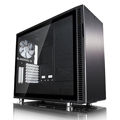 Fractal Design FD-CA-DEF-R6C-BK-TGL Define R6 Tempered Glass USB-C Gehäuse 360 Panel-system