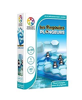 Smartgames - SG 431 FR - Les Pingouins Plongeurs - Jeu De Réflexion