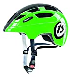 UVEX Kinder Finale Junior Mountainbikehelm, 1926 Black Green, 51-55 cm