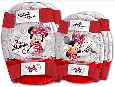 Kit Schutz Kinder Ellbogen und Knie Easy Minnie Mouse Fahrrad 356286173