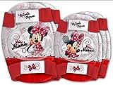 Kit proteccion Infantil Codos y Rodillas Easy Minnie Mouse Bicicleta 35628 6173