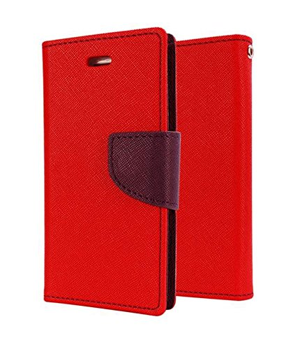 Dr2s Mercury Goospery flip Cover for Samsung Galaxy A9 Pro (2016) – Red