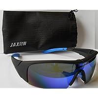 Jaxon Polarisationsbrille verspiegelt Silber Polbrille Angelbrille Brille Polatisationsbrille Sonnenbrille Sunglasses teDOPG6
