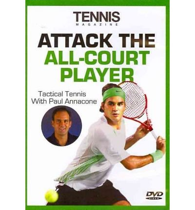 Attack the All Court Player DVD (Tennis Magazine's Tactical Tennis) (DVD video) - Common -