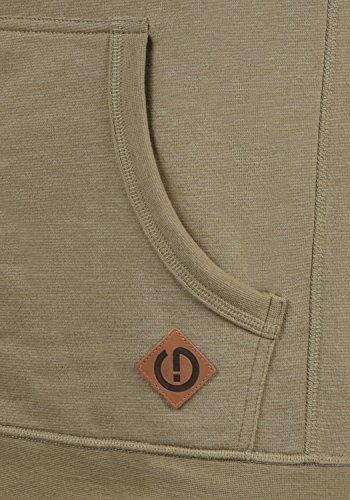 !Solid Vitu Herren Sweatjacke Kapuzenjacke Hoodie Mit Kapuze Und Reißverschluss Aus 100% Baumwolle, Größe:S, Farbe:Sand Melange (8409) - 4