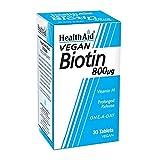 HealthAid Biotin 800g - 30 Tablets by HealthAid