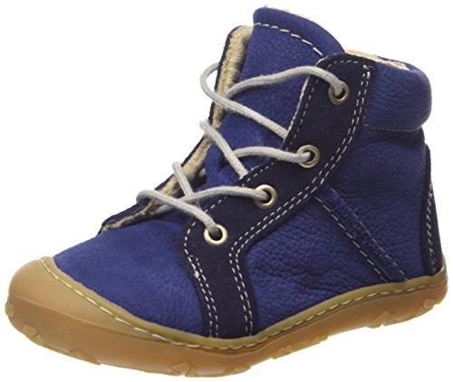 Ricosta George Unisex-Kinder Oxford Schnürhalbschuhe Blau (kobalt/nautic 152)