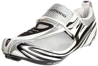 Shimano Men's Cycling Shoes, White/Black/Silver, 4 UK