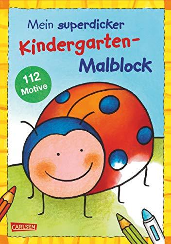 dergarten-Malblock: Über 100 Ausmalbilder für Kinder ab 3 Jahren ()