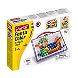 Quercetti 0923 - Mosaik-Steckspiel Fanta Color Portable Small