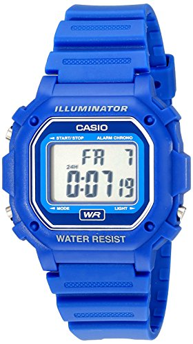 Casio F-108WH-2ACF Big Square Digital Watch For Unisex