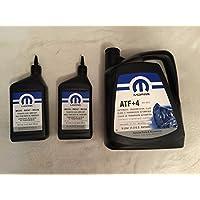 MOPAR Transmisión automática ATF + 4 y líquido de la caja de transferencia NV247 5016796AC 68218058AA