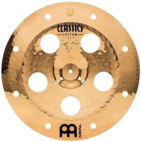 Meinl Cymbals CC18TRCH-B Classics Custom Serie 45,72 cm (18 Zoll) Trash China Brilliant Finish Becken (Meinl Classics Custom)