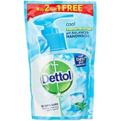 Dettol Liquid Handwash - 175 ml (Cool, Buy 2 Get 1 Free)