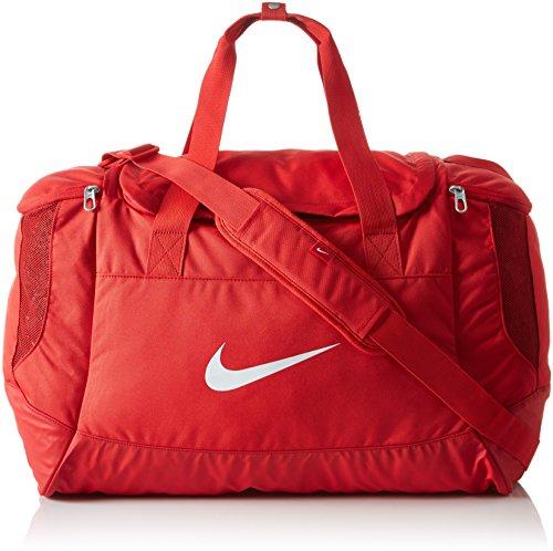 Nike Unisex Sporttasche Club Team Swoosh, red/white, 53 x 37 x 27 cm, 52 Liter, BA5193-657 - Frauen Nike Tasche