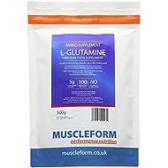 Muscleform 500 g L-Glutamine Powder