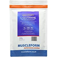 Muscleform 500 g L-Glutamine Powder