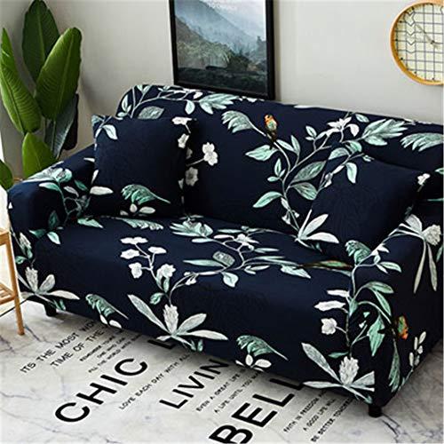 SHFOLSFH Inkjet-Muster elastische Stretch Universal Sofa Abdeckungen Schnitt Werfen Couch Ecke Cover Cases für Möbel Sessel Home Decor 14 Single seat Sofa -