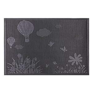 Yesurprise 45x 30cm Lot de 6sets de table PVC imperméable de qualité supérieure de la chaleur Isolation Table Pad Tapis de Tasse antidérapante # 35