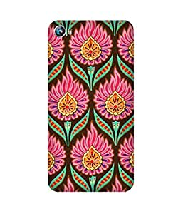 Flower India Back Cover Case for Micromax Canvas Fire 4 A107