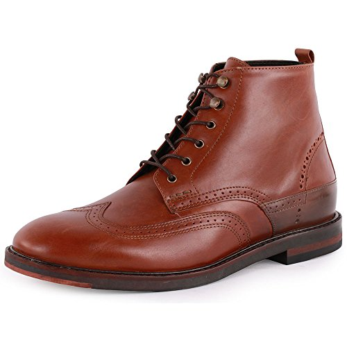 H by Hudson Harland Herren Ankle Boots Tan