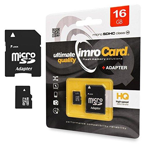 16GB Speicherkarte micro SD HC class 10 UHS-1 Samsung Galaxy S4 Cricket (Cricket Galaxy S4)