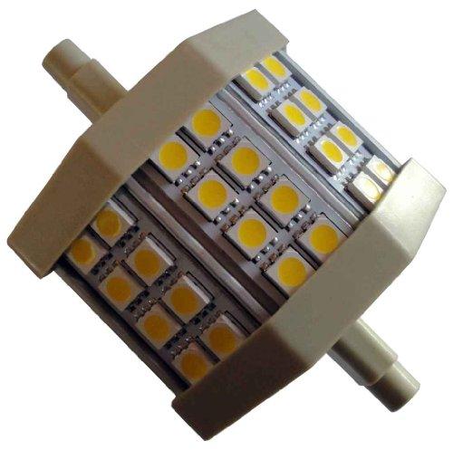 Preisvergleich Produktbild 5W LED R7s-78 400 Lumen J78 Leuchtmittel-Brenner warm-weiß