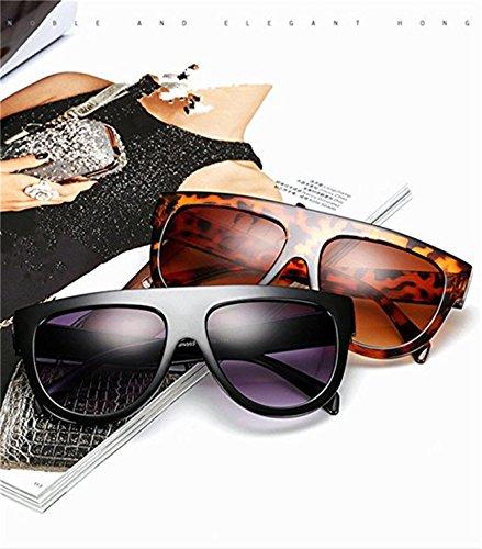 Qissy Femmes Designer Unisex erres Teintés UV400 Classique Lunettes de soleil en Oversize Lunettes Club master (B) 1kq6n3bg