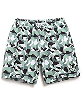 HAIYOUVK Seaside Beach Pants Men'S Quick-Drying Large Size Loose Beach Holiday Womens Shorts Spa Shorts Swimsuit...