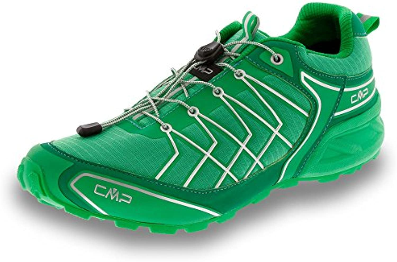 CMP Super X – Zapatilla de trail running para hombre, verde