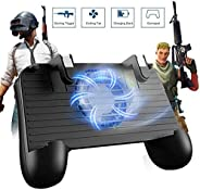 SVZIOOG Gaming Grip Mobile Game Controller and Joysticks for PUBG/Fortnite/Rules of Survival for 4.5-6.5-inch
