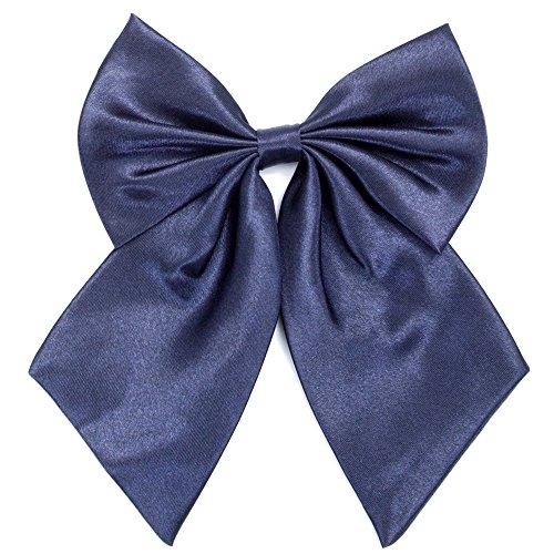 Chor Anzug (Damen Fliege Schleife Binder Schlips - 28 ~ 49 cm Länge Verstellbare Bowknot Krawatten (Navy blau))