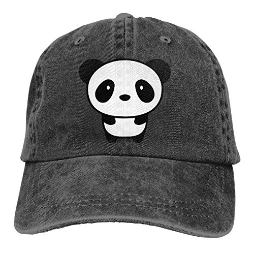 Cute Kostüm Bear Panda - cvbnch Cowboy-Hut Sonnenkappen Sport Hut Cute Panda Bear Men's Women's Adjustable Jeans Baseball Hat Yarn-Dyed Denim Trucker Hat Sports Cool Youth Golf Ball Unisex Hiking Cowboy hat hip hop