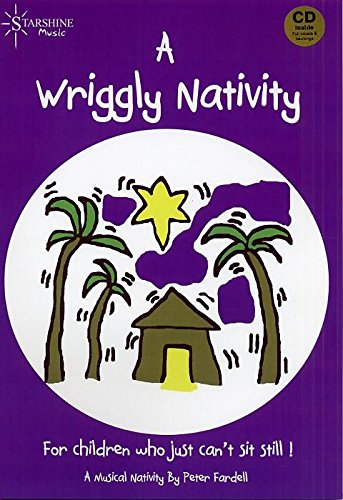 Peter Fardell: A Wriggly Nativity. Sheet Music, CD for Voice, Piano Accompaniment