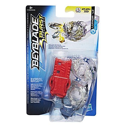 Hasbro Beyblade Burst E1056ES0 Starter Pack Luinor L2, Kreisel