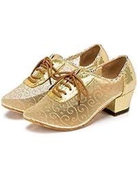 W&LM LMe Fond Doux Chaussures De Danse Latine Relation Amicale Moderne Carré Chaussures De Danse