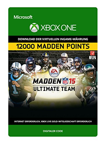 Madden NFL 15: 12,000 Points [Xbox One - Download Code]