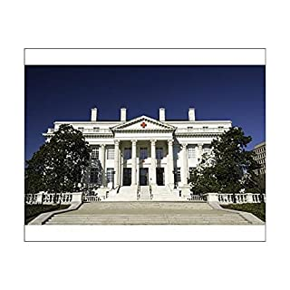 Robert Harding 10x8 Print of American National Red Cross Headquarters, Washington, D.C, United States of (9602315)