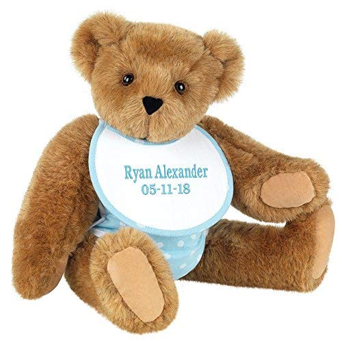 Vermont Teddy Bear Vermont Teddy Bear - New Baby Custom Gift, 15
