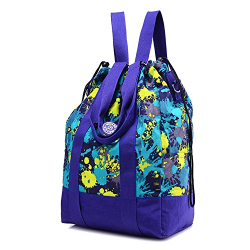 24a52ad3d070e Outreo Rucksäcke Lässige Schultaschen Rucksack Damen Wasserdicht  Schulrucksack Leichter Tasche Schul Daypack Kordelzug Reisetasche Backpack  für ...
