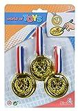 Simba 108614918 - 3 Medaillen zum Umhängen, 2-sortiert