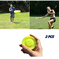 Zip Chip Frisbee Mini Pocket Spin Catching Game Sport Flying Disc Zipchip Creative Hand-push For Adults Kids Pack of 2