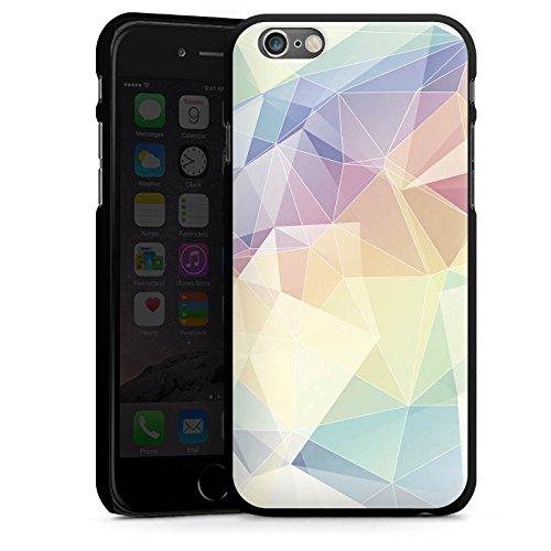 Apple iPhone 4 Housse Étui Silicone Coque Protection Pastel Motif Motif CasDur noir