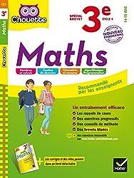 Maths 3e Spécial Brevet - Nouveau programme 2016