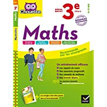 Maths 3e Spécial brevet : nouveau programme (Chouette Entraînement Collège)
