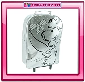 Disney Fairies Tinkerbell Silver Trolley Luggage Bag by DISNEY TINKERBELL