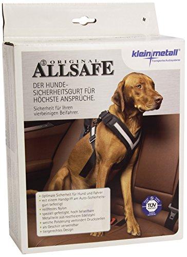 Artikelbild: KLEINMETALL Allsafe Gürtel der Sicherheit für Hunde, Schwarz, Größe M