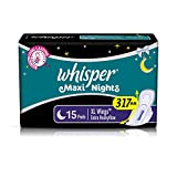 Whisper Maxi Overnight Sanitary Pads - X...